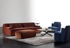 Norton sofa | Meridiani Floor Chair, Sofas, Contemporary, Interior, Table, Furniture, Space, Home Decor, Chaise Longue