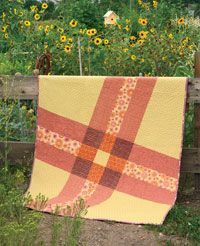 A New Slant by Modern Quilt Studio in Quilters Newsletter Presents Best Modern Quilts 2014