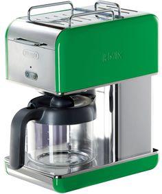 DeLonghi Kmix 10 Cup Drip Coffee Maker, Green Review