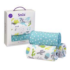Snuz 3pc Rootin Tootin Baby Bedding Set for Snuzpod