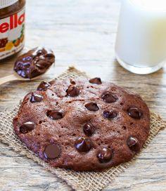 Microwave Nutella Cookie   Kirbie's Cravings   A San Diego food blog