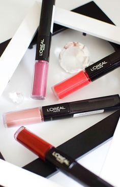 die EDELFABRIK | Ü40 Blog für Mode, Beauty und Lifestyle aus Kassel: L'Oréal Indefectible Lippenstifte - Review - Longl...  #review #lips