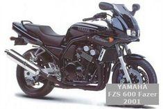 Yamaha FZS 600 FAZER 2001 - názory motorkářů, technické parametry, servisní manuály Yamaha FZS 600 FAZER