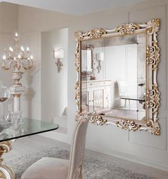 Such a pretty decorative mirror