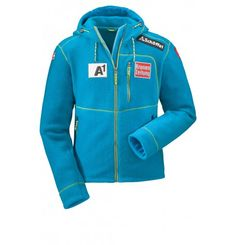 """Pre-Order: Austrians Sheldon Jacket- The sporty Austrians Sheldon Fleecjacke is a """"must have"""" for all skiers. With the current look of the Austrian ski team. She promises you the kind of cozy comfort to you need when you're out in the cold. Take the zip and enjoy your day to the fullest. For those who know what they need."""
