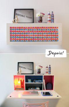Personalização da Escrivaninha Picture | Minha casa, minha cara