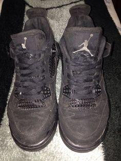 half off cb4b4 e9382 Jordan Retro 4 Blackcat Size 8 Rare. Jordan Retro 4Nike ...