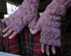 Ravelry: Sweetheart Fingerless Mittens pattern by Darcie Laack