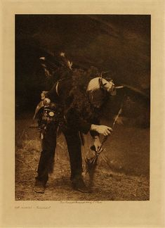 Library of Congress: Edward S Curtis Collection Gaaskidi - Navaho