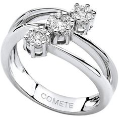 Comete ladies ring Rose di diamanti ANB 1392 - WeJewellery