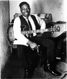 A Very Young BB King, Great Man! LEGEND...Gibson Guitar