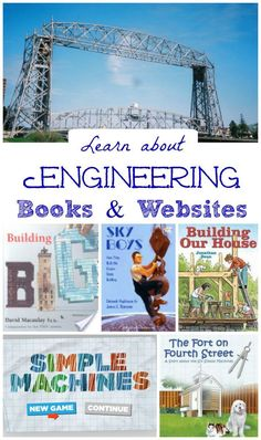 40+ great resources & hands-on activities that teach kids about engineering!