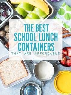 I've packed 1200+ school lunches and found the best school lunch box for all ages - toddlers, kinder, elementary and adults. Plus tips to keep food cold! :: DontWastetheCrumbs.com