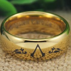 Assassin's Insignia Ring, made out of tungsten carbide
