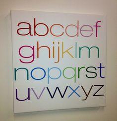 Alphabet Wall Art - Avalisa.com