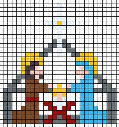 Thrilling Designing Your Own Cross Stitch Embroidery Patterns Ideas. Exhilarating Designing Your Own Cross Stitch Embroidery Patterns Ideas. Christmas Perler Beads, Cross Stitch Christmas Ornaments, Xmas Cross Stitch, Christmas Embroidery, Christmas Cross, Cross Stitching, Cross Stitch Embroidery, Christmas Nativity, Melty Bead Patterns