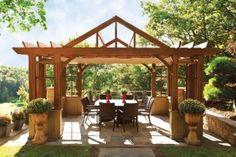 The Grand Arbor Pergola Design