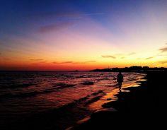 Late summer dusk