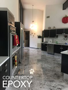 Inspiration for Kitchen Epoxy Countertops and How-to Videos. Epoxy Countertops, Floors, Wall Systems and More.
