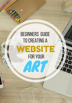 Beginners Guide To Creating A Website For Your Art The Studio Tour uses Squarespace for our website; Weebly is also an excellent way to create a site. Craft Business, Creative Business, Business Tips, Serious Business, Business Marketing, Online Marketing, Selling Art Online, Online Art, Site Art