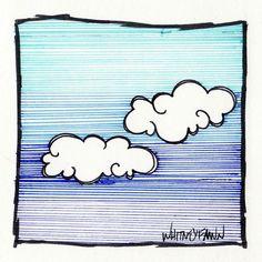 @whitneyfawn    #30DoC Day 5 - Clouds - @createstuff