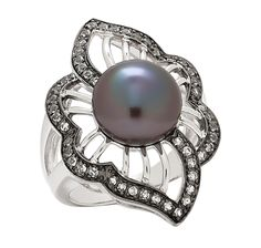 Buy Pearl Lustre Sterling Silver Freshwater Pearl & White Topaz Ring, Pearl Lustre and Rings from The Shopping Channel, Canada's home shopping network - Online Shopping for Canadians