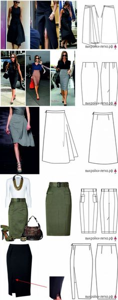 Super how to sew a skirt pattern Ideas Diy Clothing, Sewing Clothes, Clothing Patterns, Dress Patterns, Diy Rock, Diy Fashion, Fashion Outfits, Diy Kleidung, Sewing For Beginners