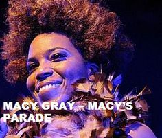 TODAY (September 6) Miss Macy Gray is @)_!.  Happy Birthday Macy. To watch her 'VIDEO PORTRAIT'  'Macy Gray - Macy's Parade' in a large format, to hear 'YOUR BEST OF Macy Gray' on Spotify, go to >> http://go.rvj.pm/13w