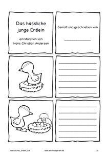 Märchen von Hans Christian Andersen: Das hässliche Junge Entlein