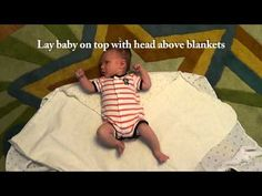The Double Swaddle Burrito Supreme for Babies, Newborns and Infants - YouTube