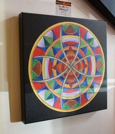 $99.00 To All my Relations Mandala - 16x16Canvas Print