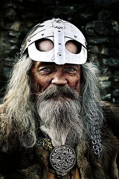 Portrait of a Viking