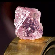 Pink diamond found in Australia.