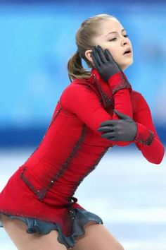 Yulia Lipnitskaya - Russian olympic champion, Sochi 2014. 15 yo Gold medalist and an outstanding athlete on all levels.