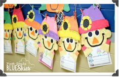 First Grade Blue Skies: The Little Scarecrow Boy *Book Companion* {Fall Craft}