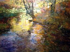 At Quimperle, Oil On Canvas by Frits Thaulow (1851-1906, Norway)
