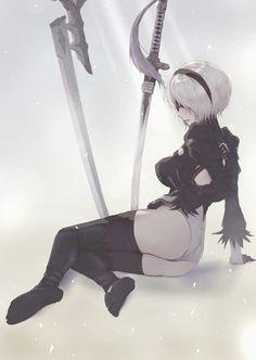 - Nier automata by IPrayIllustrator on DeviantArt Fanarts Anime, Anime Characters, Manga Anime, Neir Automata, Nier Automata Game, Character Art, Character Design, Rainbow Art, Animes Wallpapers