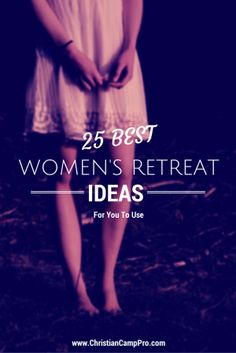 Planning a women's retreat is as challenging as it is rewarding. To help you we have put together a list of the 25 best women's retreat ideas. Christian Retreat, Christian Camp, Christian Girls, Christian Living, Christian Women's Ministry, Womens Ministry Events, Women's Retreat, Health Retreat, Relief Society
