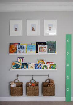 Project Nursery - I like the basket storage