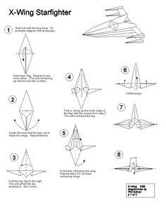 Star Wars Origami <b>star wars origami</b>