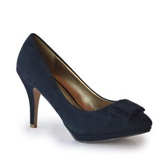 Peeps, Peep Toe, Woman, Collection, Shoes, Fashion, Blue Living Rooms, Court Shoes, Navy Blue
