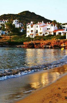 Atardecer desde Menorca
