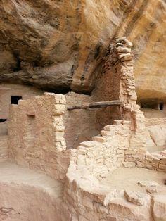 Cliff dwellings around Mesa Verde, CO