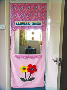 Children's+pink+doorway++playhouse+English+by+ItsSewInspirational,+£48.00