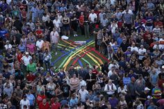 Unity: Many of those in attendance were from the city's LGBT community. Speakers talked of...