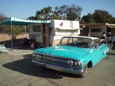1966 Aristocrat Lo-Liner  [1960 Chevy Impala tow]  Joe & Sara Garcia  Santa Maria, California