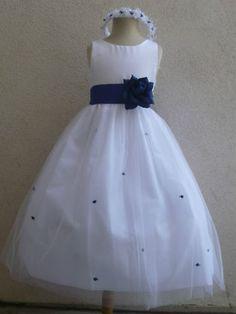 Aqua Sequence Flower Girl Dress Wedding Recital Birthday Pageant Summer #18