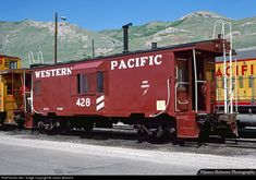 RailPictures.Net Photo: WP 428 Western Pacific International Car Caboose at Salt Lake City, Utah by James Belmont