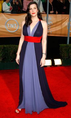 Liv Tyler Owned The Red Carpet Wearing Marc Jacobs At The Screen Actors Guild Awards 2004