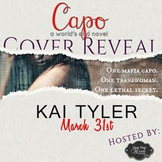 Cover Reveal - Capo (World's End #3) by Kai Tyler   Title: Capo Series: World's End #3 Author: Kai Tyler Genre: Adult Transgender Thriller Coming: July 10 2017  Love Bites & Silk  Marshall Vincenzo has his hands full with running the Angel City casinos now that his best friend Dante is the new boss of San Torino. Not only is he left in charge of operations for the haven of gambling but he still has to deal with new demands made on him by his Uncle the Don of the Vincenzo clan. But when he…